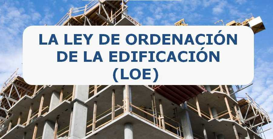 Imagen del evento La Ley de Ordenación de la Edificación