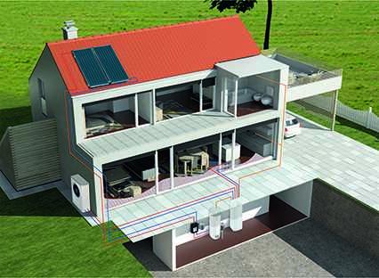 Imagen del evento Viviendas de alta eficiencia energética con instalación de aerotermia