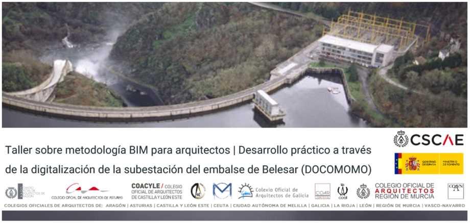 Imagen del evento Taller BIM: Digitalización de la subestación del embalse de Belesar