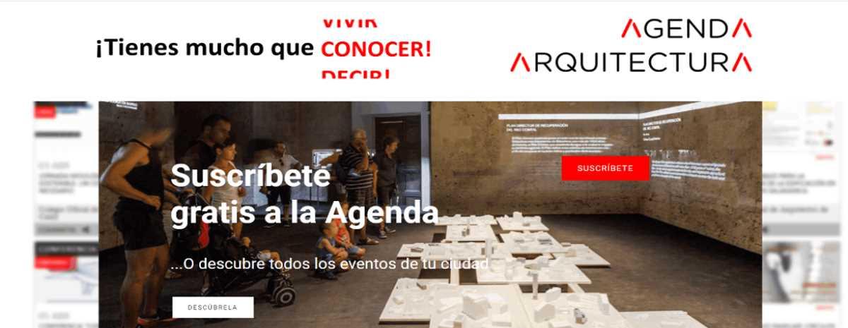 Descubre AGENDA ARQUITECTURA