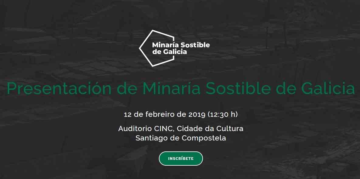 Imagen del evento Minaría Sostible de Galicia