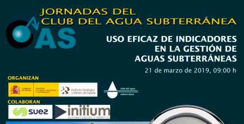 Imagen del evento USO EFICAZ DE INDICADORES EN LA GESTIÓN DE AGUAS SUBTERRÁNEAS