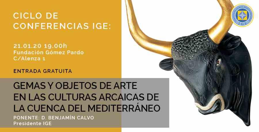 Imagen del evento GEMAS Y OBJETOS DE ARTE EN LAS CULTURAS ARCAICAS DE LA CUENCA DEL MEDITERRÁNEO