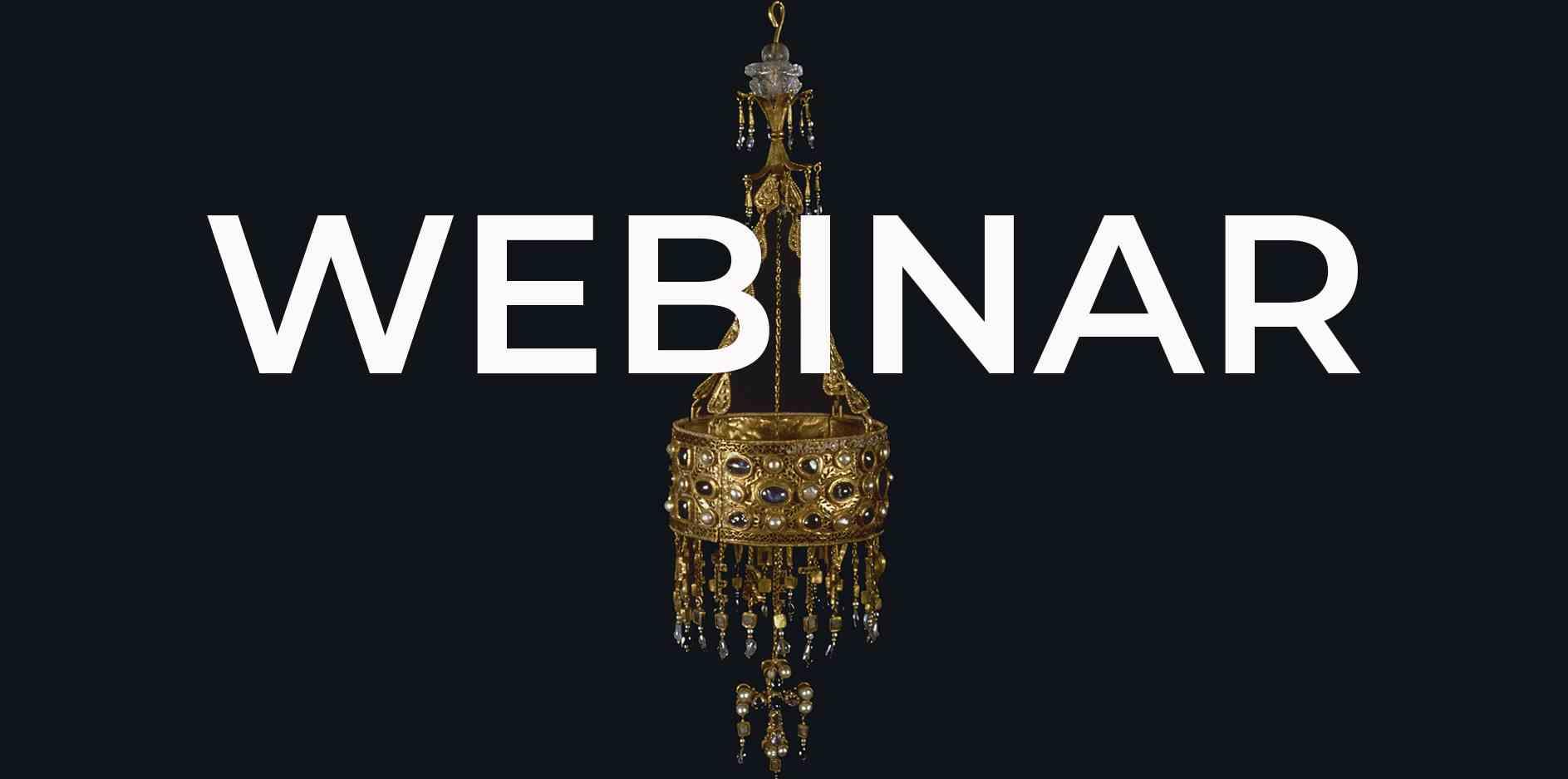 Imagen del evento Webinar: Las gemas del tesoro de Guarrazar. EL ENIGMA VISIGODO