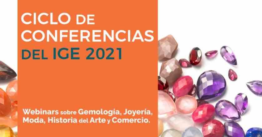 Imagen del evento Ciclo de Conferencias IGE 2021