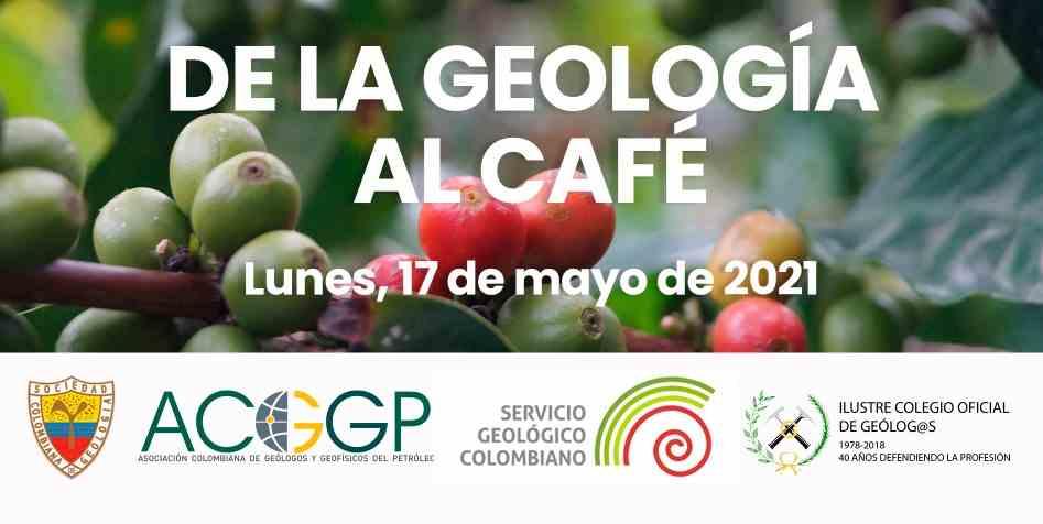 Imagen del evento Webinar: De la geología al café