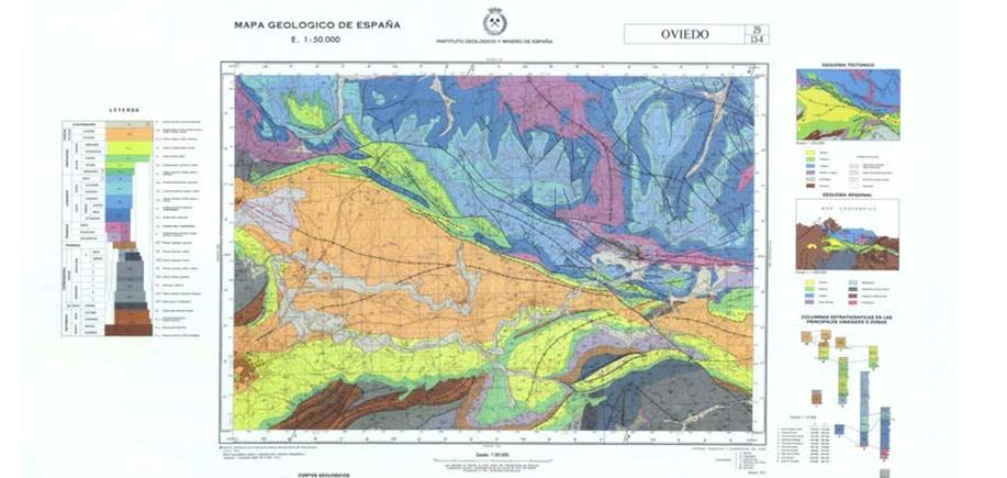 El IGME mejorará el conocimiento geológico de Asturias con una nueva ...
