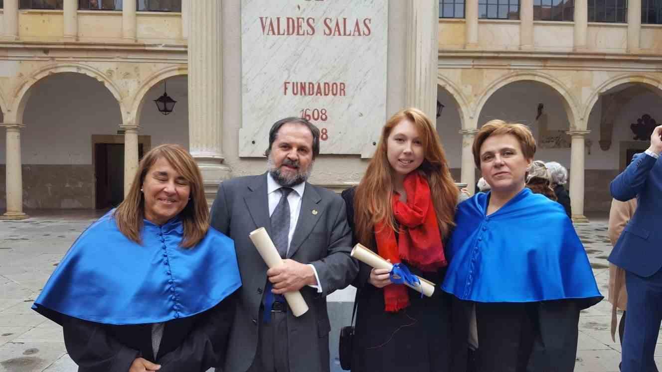 La Universidad de Oviedo entrega los Premios Fin de Grado en la celebración de Santa Catalina de Alejandría