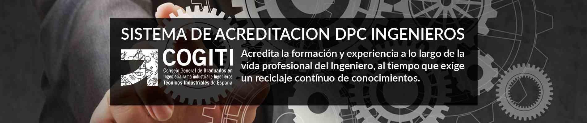 Acreditación Profesional COGITI DPC