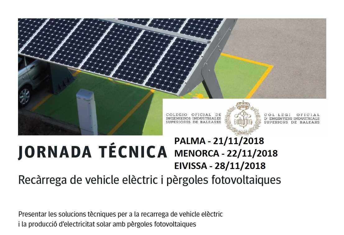 Imagen del evento Jornada Circutor: Recarga del vehículo eléctrico y Pérgolas fotovoltaicas